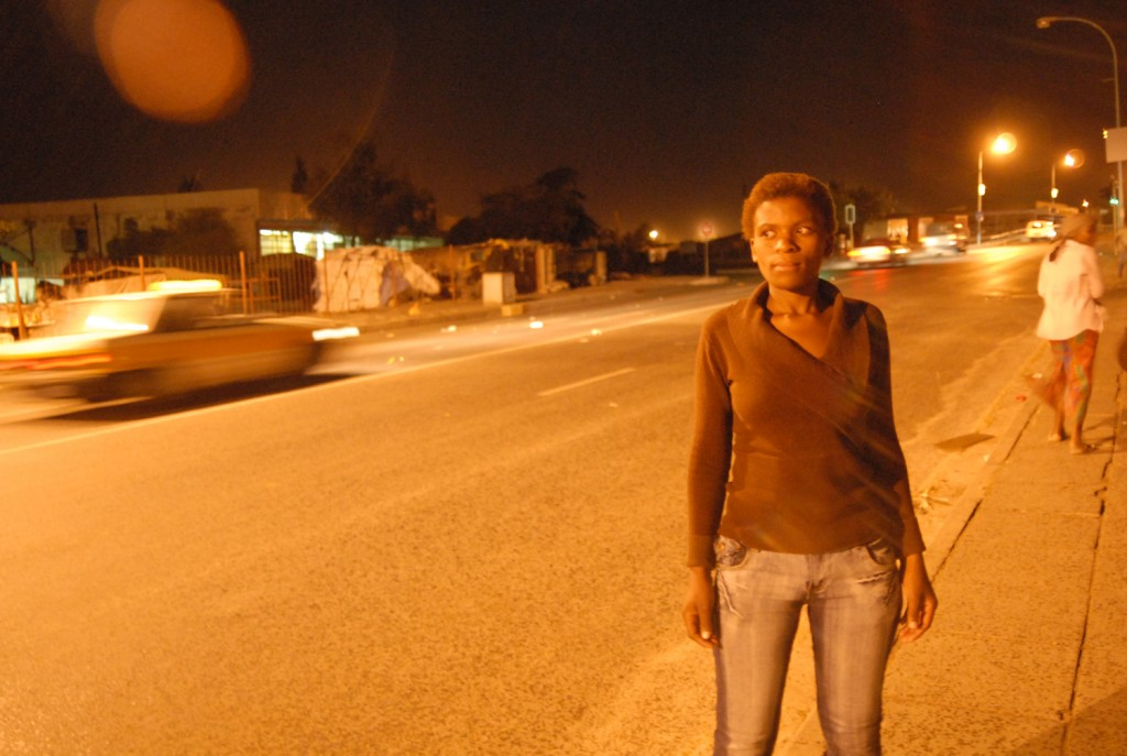 The names and images of gay and lesbian people interviewed cannot be disclosed because of fear of violence. This image is of Mpho Thaele, 19, an orphan who sells her body on the streets of Maseru, Lesotho.  Photo © Eva-Lotta Jansson/UN-OCHA IRIN and Red Cross