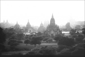 The ancient city of Bagan, with more than 2000 pagodas and temples.. Photo: Jose Javier Martin Espartosa