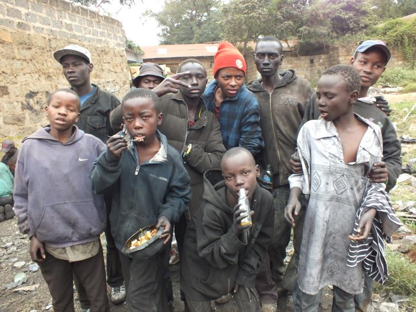 Nairobi street children