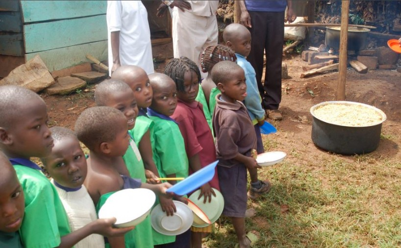 Food sovereignty is mandate for the starving children (Source: FMSC Distribution Partner - Kenya)