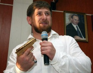 "hechnyan President Ramzan Kadyrov.  ""I know for sure who is responsible for the killing of Natalia Estemirova. We all know that man. It is Ramzan Kadyrov, president of Chechen Republic. Ramzan threatened Natalia, insulted her, believed her to be his personal enemy. We don't know whether it was Ramzan himself who ordered to kill Natalia or his close associates did it to please the ruling authority. And President Medvedev seems satisfied to have a murderer as a head of one of Russia's republics.""  - Oleg Orlov, head of Memorial's Board, who was also kidnapped in 2007 Photograph by-Musa Sadulayev."