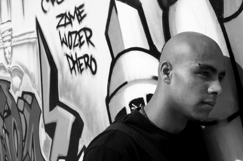 Victor Leiva left gang violence to pursue a life in art and community involvement. At 24 years old, he was murdered.