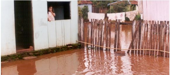 Floods due to constructions at Yacyreta dam Photo by: International Rivers
